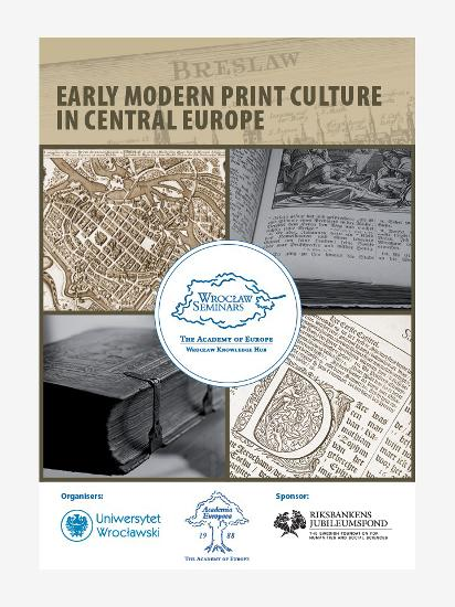 Early Modern Print Cultuer in Central Europe