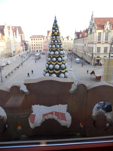 View from the AE Wroclaw Hub city hall office onto the City Square at the heart of Wrocław (Photo: Cinzia Ferrini)