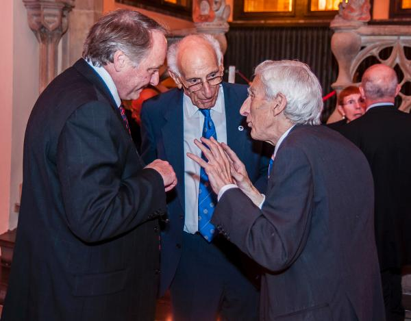 David Coates, Sir Arnold Burgen and Sir Martin Rees