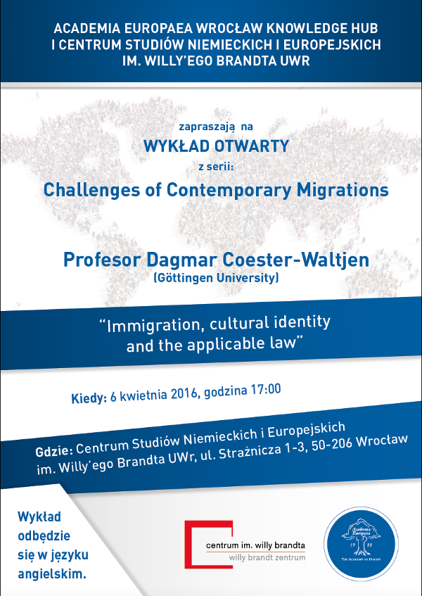 Immigration, cultural identity and the applicable law