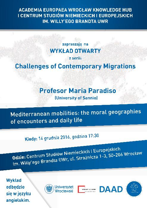 Mediterranean mobilities: the moral geographies of encounters and daily life