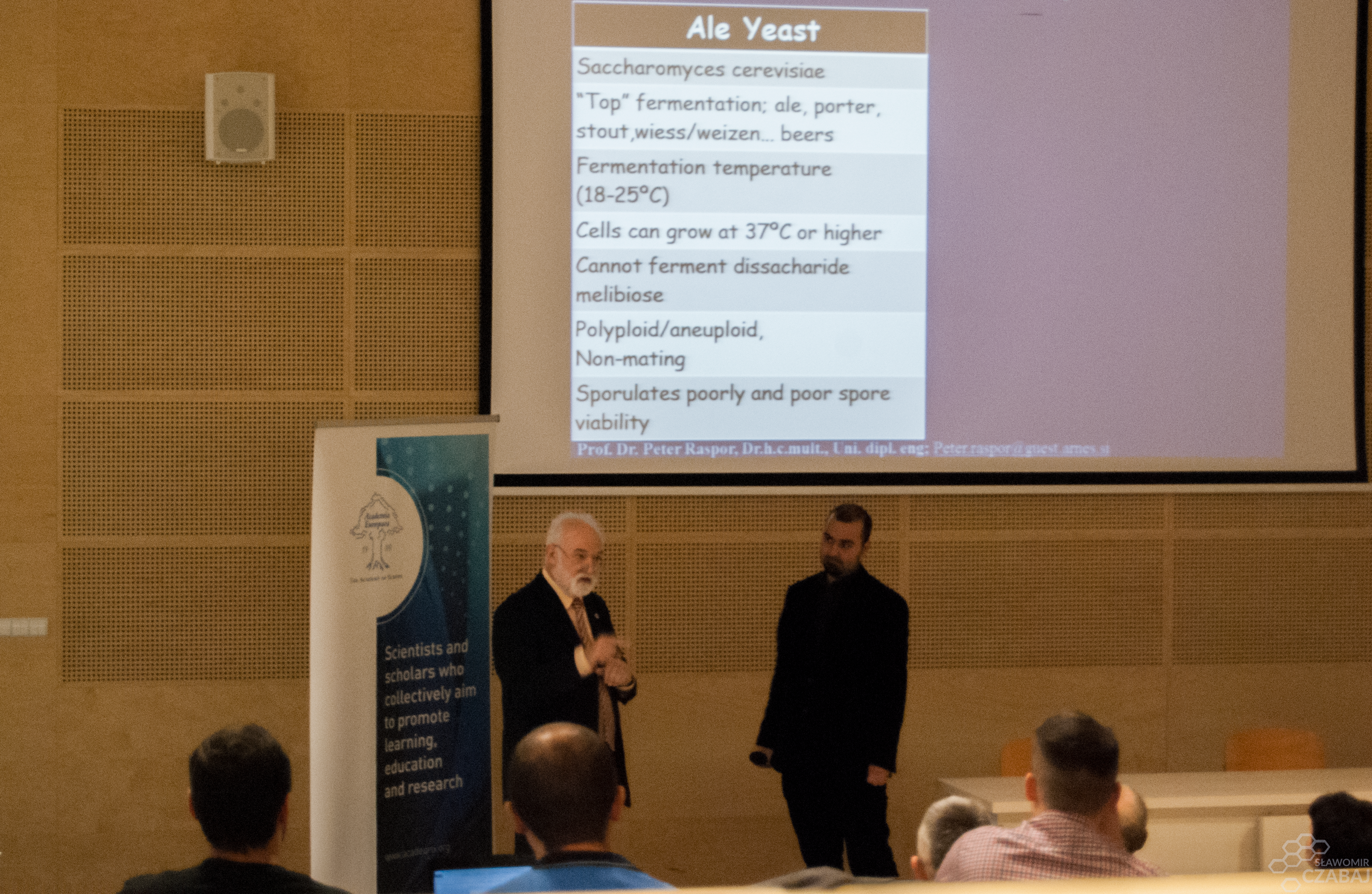 Academy of Europe: The Yeast - Challenge for technologists