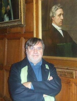 Josep Colomer with Lewis Carroll in Oxford
